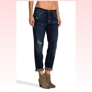 Current/Elliott Fling Jeans Sidecar Destroy 28x27